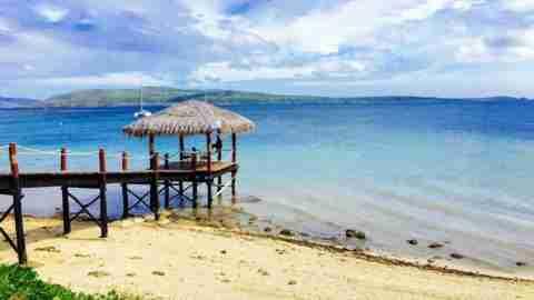 The Havannah Resort crystal clear water paradise harbour beach port vila vanuatu