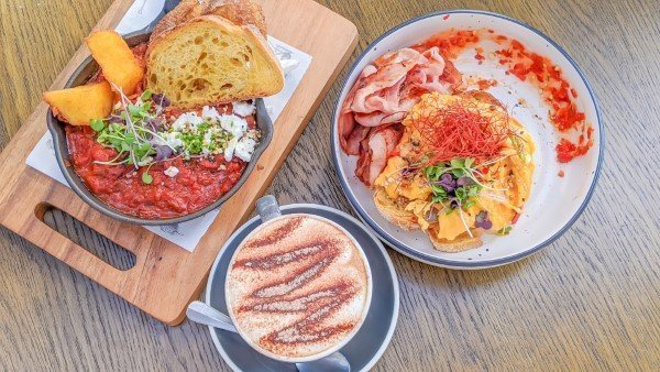 Patch-Cafe-Auckland-Shakshuka-Chilli-Scrambled-Eggs-Coffee-Family-friendly-Kids-Eatery-Review-North-Shore