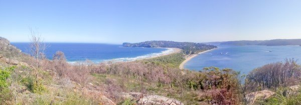 Barrenjoey head lookout panoramic best view Sydney palm beach